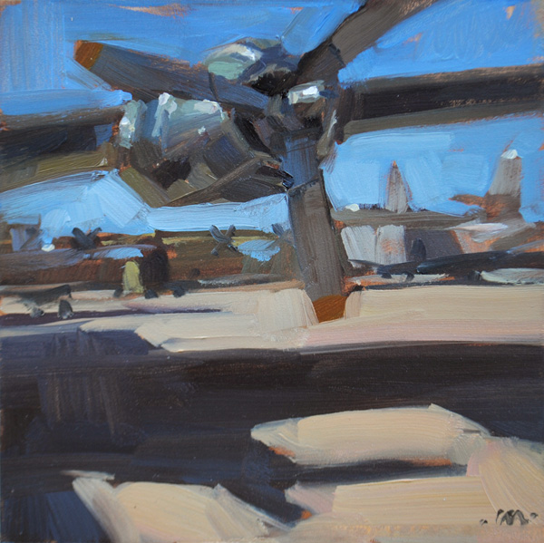 """Motor Rotor"" original fine art by Carol Marine"