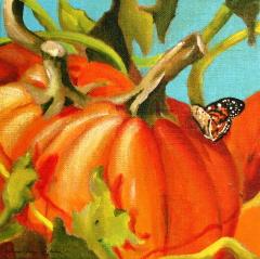 """It must stem from Autumn..."" original fine art by JoAnne Perez Robinson"