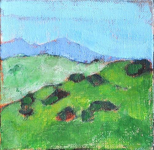 """Green Hills in Julian, California"" original fine art by Kevin Inman"