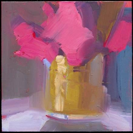 """1786 Well Groomed"" original fine art by Lisa Daria"
