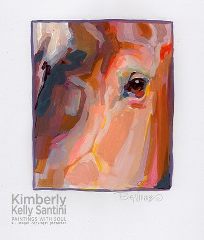 """Big Vinnie"" original fine art by Kimberly Santini"