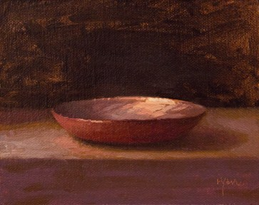 """Copper Plate (& One of My Favorite Places to Paint)"" original fine art by Abbey Ryan"