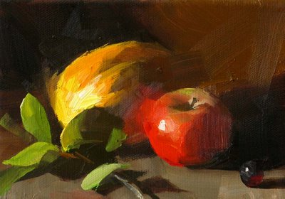 """""""Sweet Colors --- Sold"""" original fine art by Qiang Huang"""