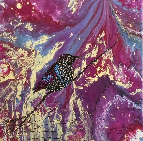 """Starling Darling by Kimberly Conrad"" original fine art by Kimberly Conrad"