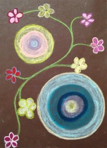 """""""Joy"""" original fine art by Adéla Svobodová"""