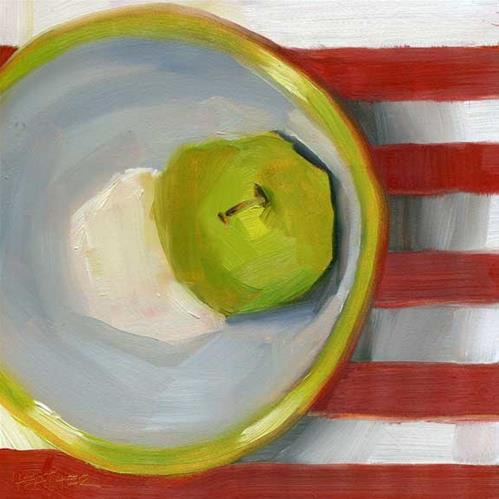 """Matching Bowl"" original fine art by Heather Bennett"