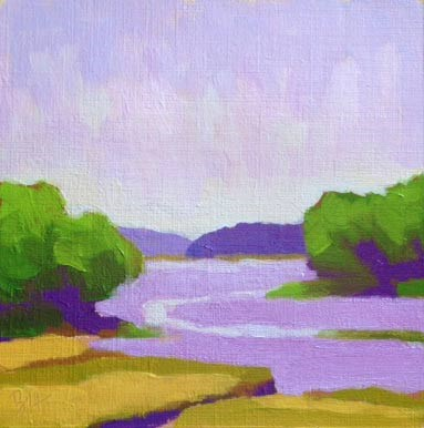 """Tidewater in Secondaries"" original fine art by Bobbi Heath"