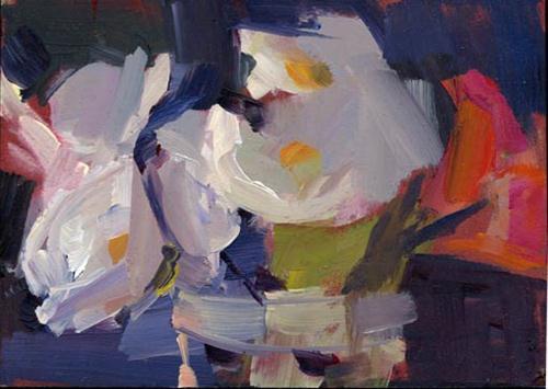 """1344 Melt"" original fine art by Lisa Daria"