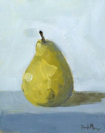 """Pear"" original fine art by Pamela Munger"