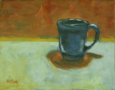 """""""Mug #4"""" original fine art by Mary McInnis"""