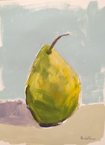 """""""Lovely Pear"""" original fine art by Pamela Munger"""