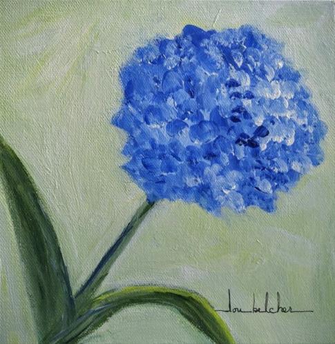 """""""Flower 0001"""" original fine art by Lou Belcher"""