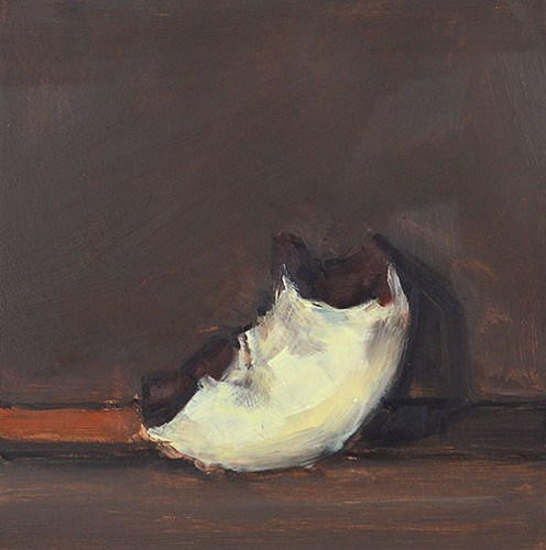 """What's Left of the Donut"" original fine art by Kevin Inman"