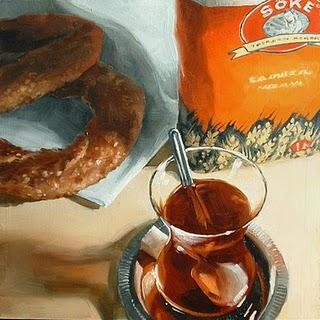 """Turkish Tea"" original fine art by Michael Naples"