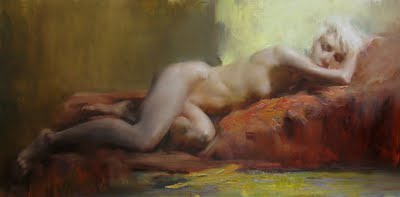 """Final 5 - the sleeping beauty"" original fine art by Fongwei Liu"