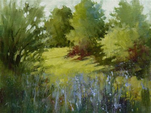 """Washington Park Spring"" original fine art by Barbara Benedetti Newton"