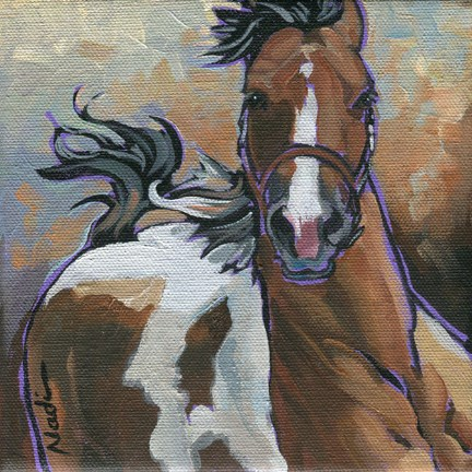 """Paint"" original fine art by Nadi Spencer"