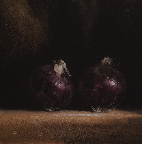 """Red Onions"" original fine art by Neil Carroll"
