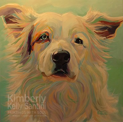 """Nabu"" original fine art by Kimberly Santini"