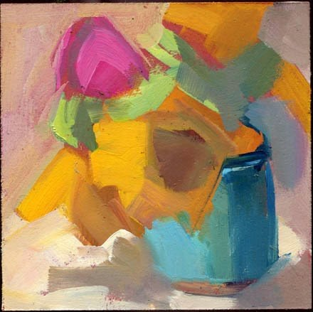 """1848 Depends"" original fine art by Lisa Daria"