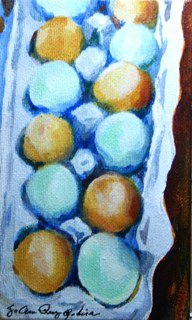 """One Dozen"" original fine art by JoAnne Perez Robinson"