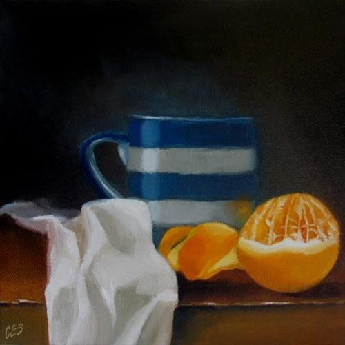 """Orange Pekoe, Please"" original fine art by ~ces~ Christine E. S. Code"