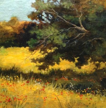 """Country Road"" original fine art by Margie Whittington"