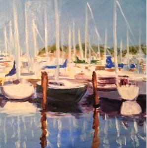 """Harbor 2"" original fine art by Debra Kennedy"