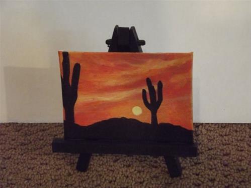 """Desert Sentinel"" original fine art by Amy VanGaasbeck"