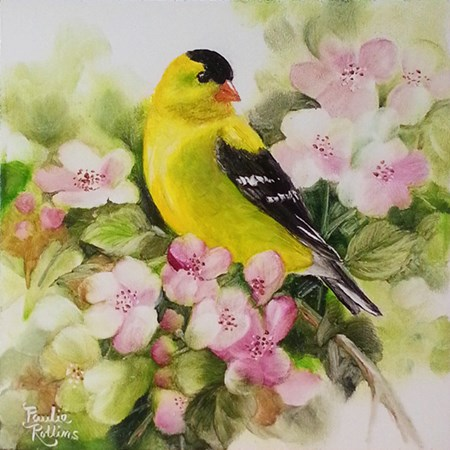 """Springtime Sunshine"" original fine art by Paulie Rollins"