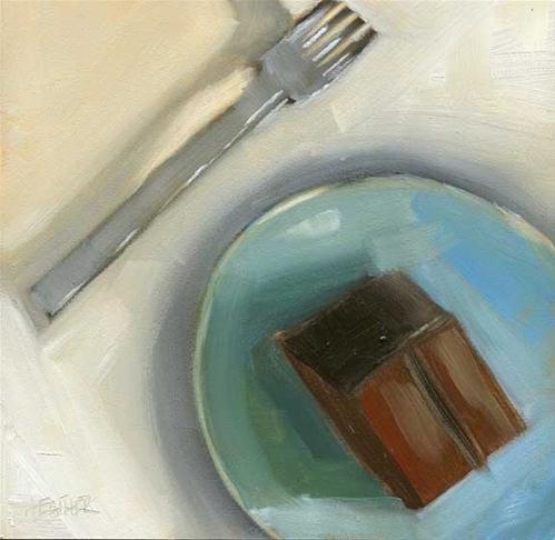 """Got My Fork"" original fine art by Heather Bennett"