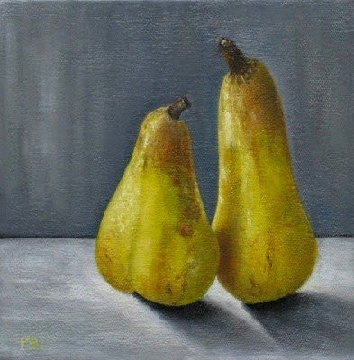 """Ceres Pears I"" original fine art by Pera Schillings"