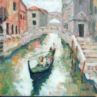 """Venice"" original fine art by Shelley Garries"