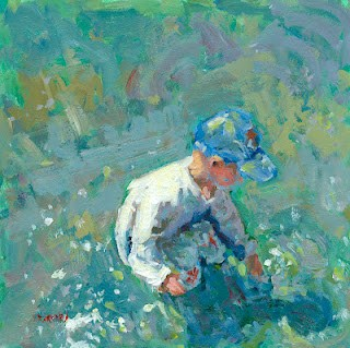 """""""splashing"""" original fine art by Shelley Garries"""