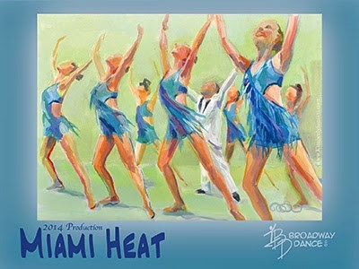 """Turn Up the Heat - Posters Available"" original fine art by Kimberly Santini"