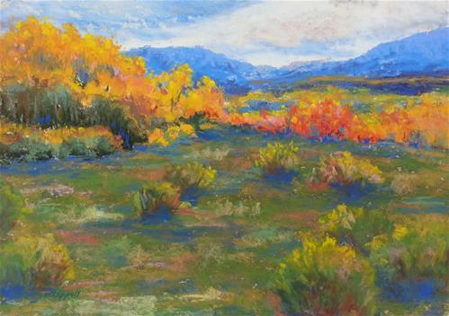 """""""Horse Ranch 22"""" original fine art by Becky Chappell"""