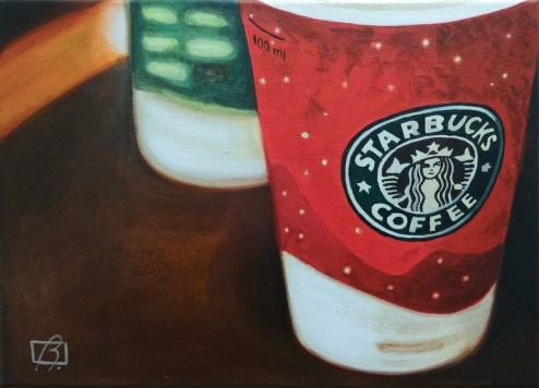 """Cinnamon Latte"" original fine art by Andre Beaulieu"