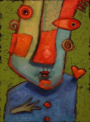 """Little Thing Called Love"" original fine art by Brenda York"