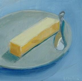 """BUTTER 2"" original fine art by Linda Popple"