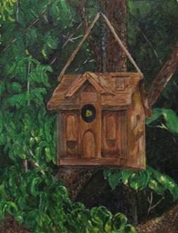 """Summer Tenant"" original fine art by Nan Johnson"