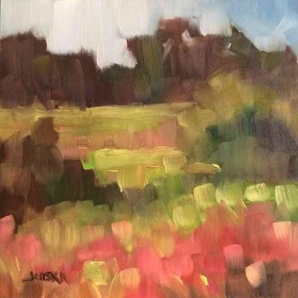 """""""Meadow"""" original fine art by Elaine Juska Joseph"""