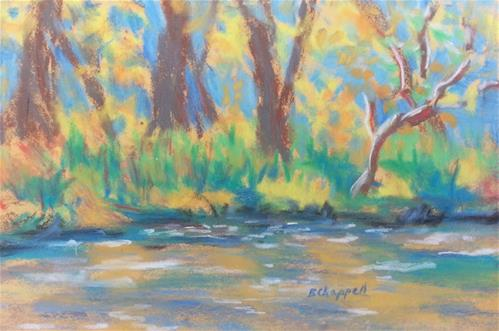"""Gunnison River at Neversink"" original fine art by Becky Chappell"