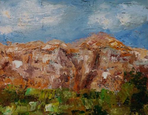 """Landscape,s21"" original fine art by Run-      Zhang Zane"