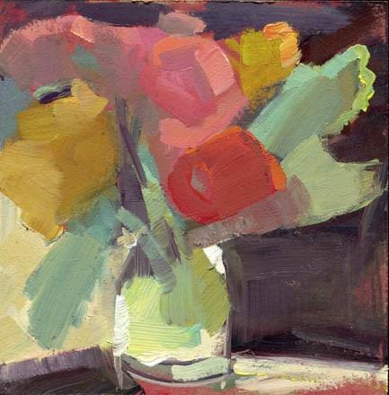 """1522 Garden Party"" original fine art by Lisa Daria"