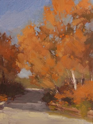 """The Road Home (study)"" original fine art by Laurel Daniel"