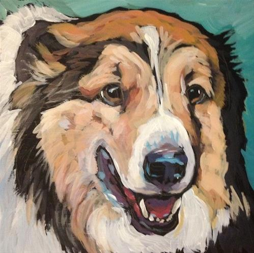 """Beau"" original fine art by Kat Corrigan"