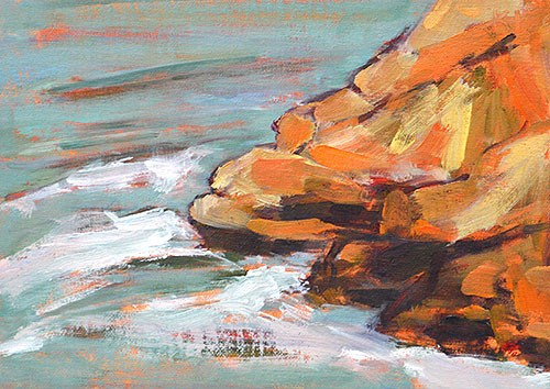"""Cabrillo Plein Air 3"" original fine art by Kevin Inman"