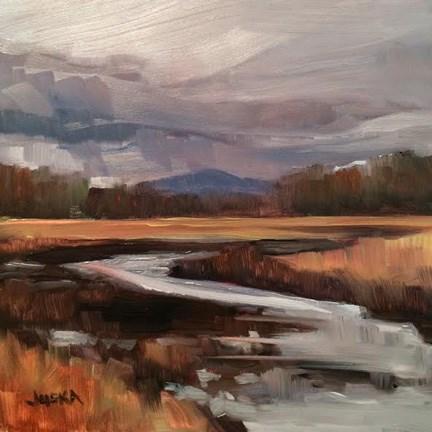 """New Hampshire Marsh"" original fine art by Elaine Juska Joseph"