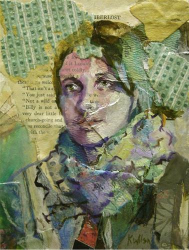 """Many Layers"" original fine art by Katie Wilson"