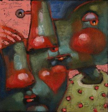 """So Happy Together"" original fine art by Brenda York"